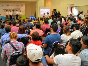 Unen esfuerzos estado-federación por la salud de la niñez Tamaulipeca.