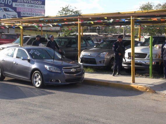 VIDEO: Estado realiza operativos contra la comercialización de autos de lujo ilegales en Reynosa.