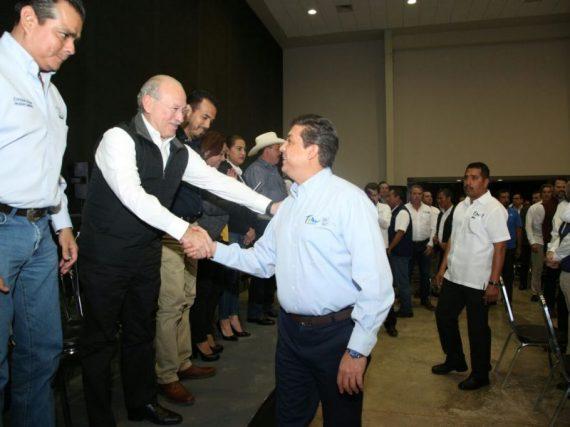 Matamoros presente en la firma de Convenio de Colaboración para el Desarrollo Social.