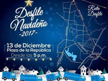 VIDEO: Hoy miércoles 13 de diciembre a las 5:15 P. M. dará inicio el Desfile Navideño.