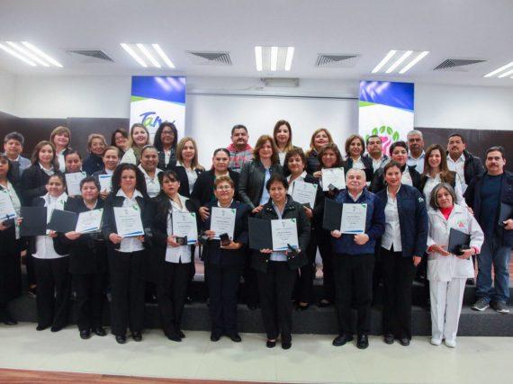 Entrega DIF Tamaulipas premio de Antigüedad a servidores públicos.