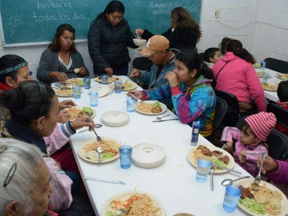Supervisa Gobierno de Tamaulipas atención a beneficiarios de comedor comunitario.