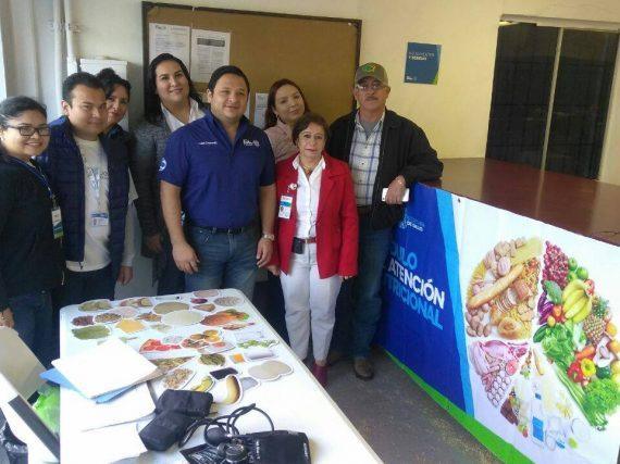 Jóvenes Tamaulipas apoya jornada de nutrición en Valle Hermoso.