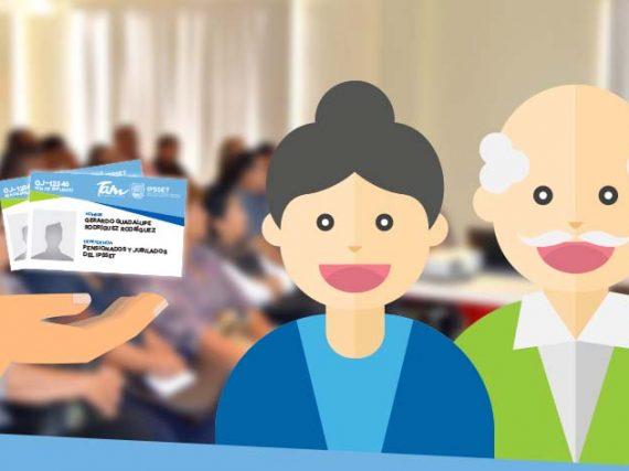 IPSSET Credencializa a más de 7 mil jubilados y pensionados.