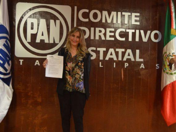 PAN confirma que Maki Ortiz será la candidata para reelección en Reynosa.