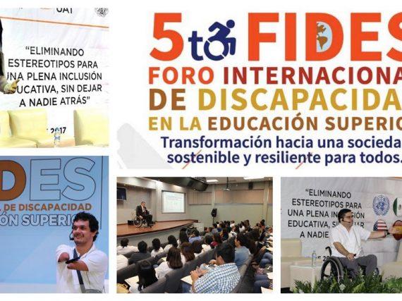 Prepara UAT foro internacional de discapacidad en la educación superior.