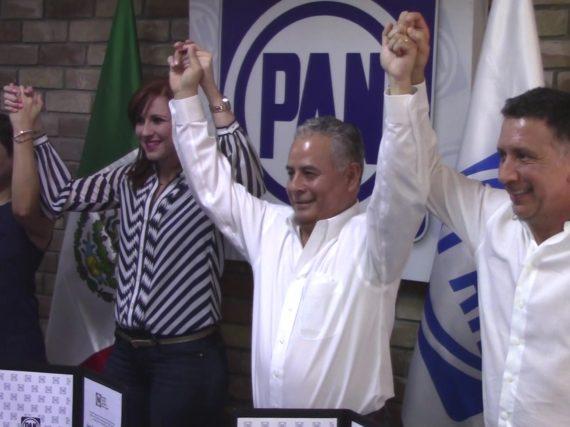Candidatos del PAN inician campaña en Nuevo Laredo.
