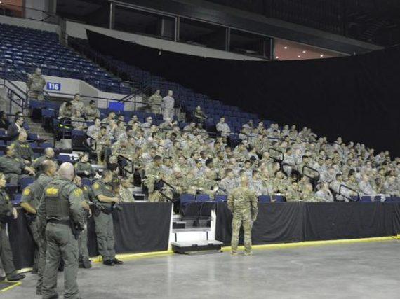 Arriban 180 elementos de la Guardia Nacional a Laredo.