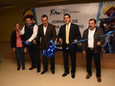 JORNADA DE TRABAJO SEGURO, POR UN TAMAULIPAS PRODUCTIVO Y COMPETITIVO