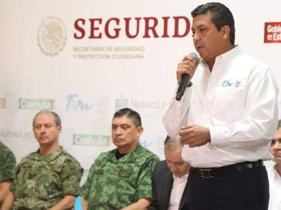 Se realiza reunión del Gobernador de Tamaulipas con los Secretarios de Seguridad, SEDENA Y SEMAR