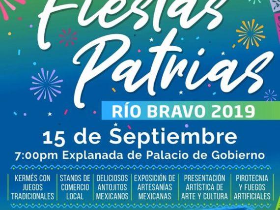 *Invita Gobierno Municipal a celebrar las Fiestas Patrias.*