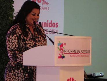 *Presidenta del Sistema DIF Municipal, Blanca Leticia de León de Ulivarri, presenta su primer Informe ante la ciudadanía Riobravence*