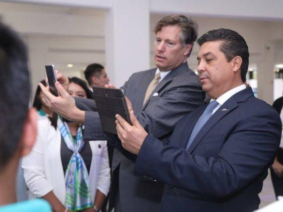 Estrecha colaboración Gobierno de Tamaulipas con Estados Unidos