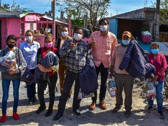 DIF Reynosa visitó a las familias del sector Vientos de Cambio