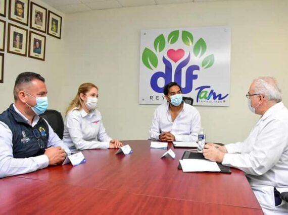 Firma DIF Reynosa convenio con Laboratorios Bioclínicos de Tamaulipas