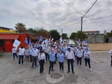 """""""Letty Gutiérrez, recorre la Frontera Grande y es recibida con beneplácito por los habitantes""""*"""