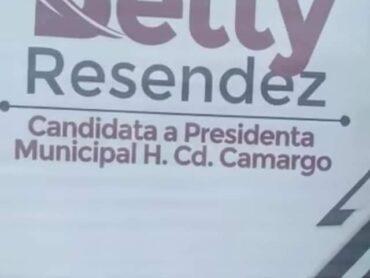 PERSONAS DESCONOCIDAS VANDALIZAN OFICINAS DEL COMITÉ DE CAMPAÑA DE BETY RESENDEZ, LANZANDO HUEVOS EN VENTANAS Y PUERTAS