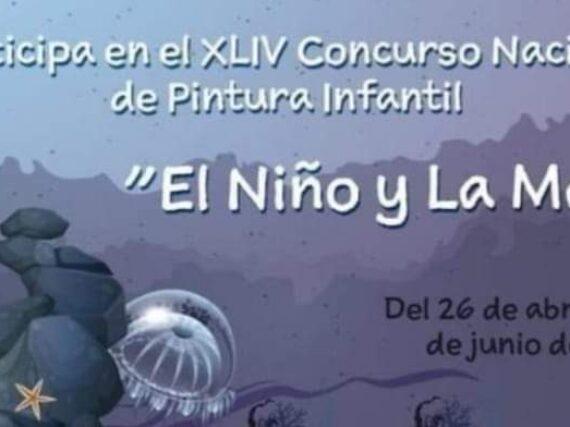 """INVITAN A LOS PEQUEÑOS A QUE PARTICIPAR EN EL CONCURSO """"El NIÑO Y LA MAR"""" EN CIUDAD MIER."""