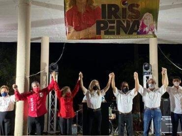 IRIS PEÑA, CIERRA CAMPAÑA EN NUEVA CD. GUERRERO.