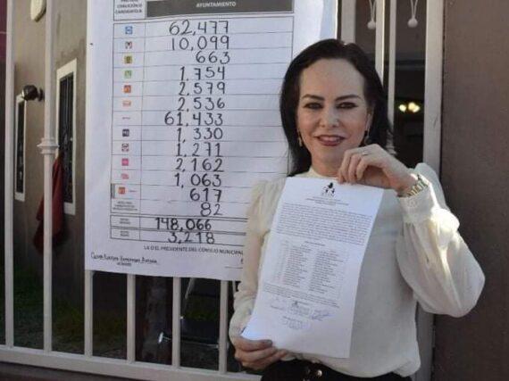 Convoca Carmen Lilia a las fuerzas vivas a trabajar por Nuevo Laredo