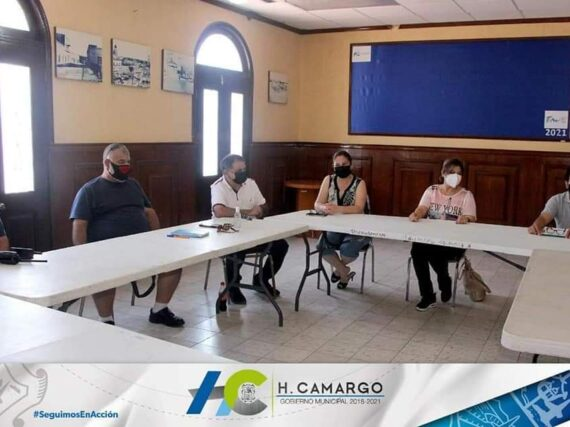 PRESIDE LA ALCALDESA MIRNA GONZÁLEZ, REUNIÓN EMERGENTE CON EL COMITÉ DE SALUD MUNICIPAL.