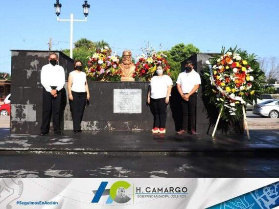 CONMEMORAN EN CAMARGO EL 155 ANIVERSARIO DE LA BATALLA DE SANTA GERTRUDIS.