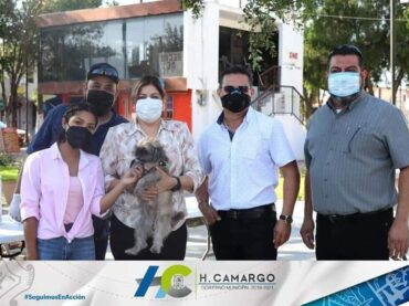 REALIZAN CAMPAÑA DE VACUNACIÓN ANTIRRÁBICA EN CAMARGO.
