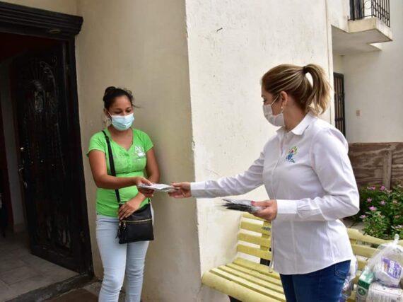 DIF Reynosa acerca beneficios hasta la casa de los ciudadanos