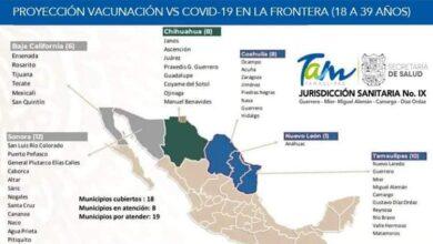 Llegará pronto la vacuna contra el Covid-19 a la Frontera Chica para personas de entre 18 y 39 años