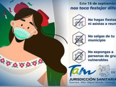 Reconoce Jurisdicción IX decisión responsable de Ayuntamientos de hacer sólo festejos virtuales por las fiestas patrias