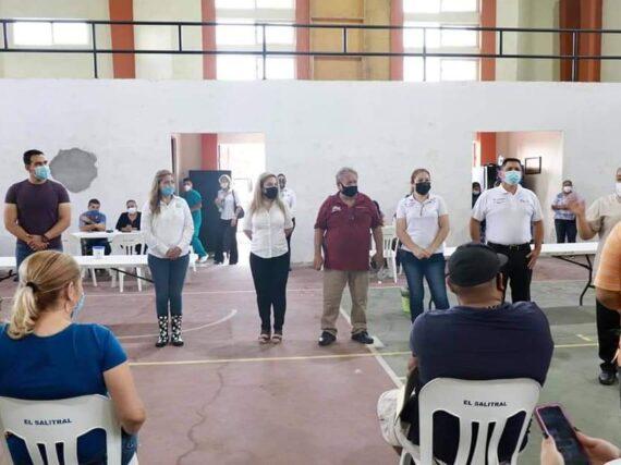 APLICAN SEGUNDA DOSIS DE LA VACUNA CONTRA EL COVID-19 PFIZER A PERSONAS DE 18 A 39 AÑOS DE EDAD.