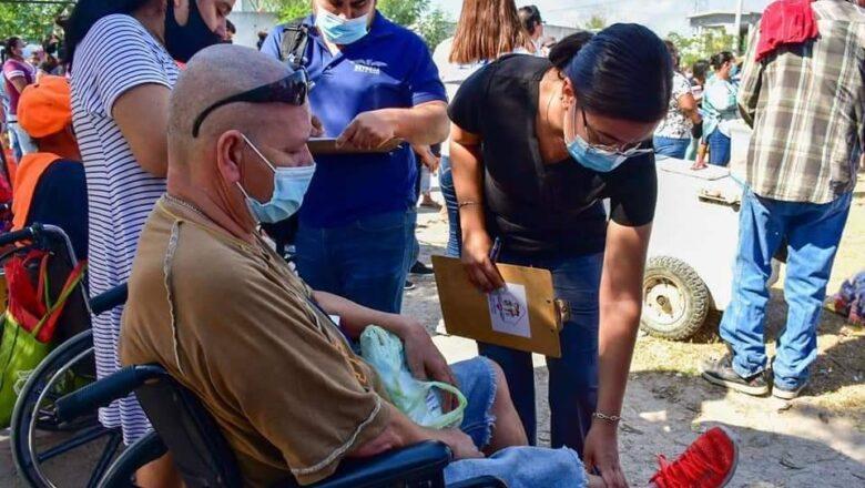DIF Reynosa continúa atendiendo a las familias de las diferentes colonias