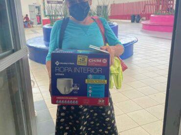 DIF Reynosa con donación permanente de pañales para adulto