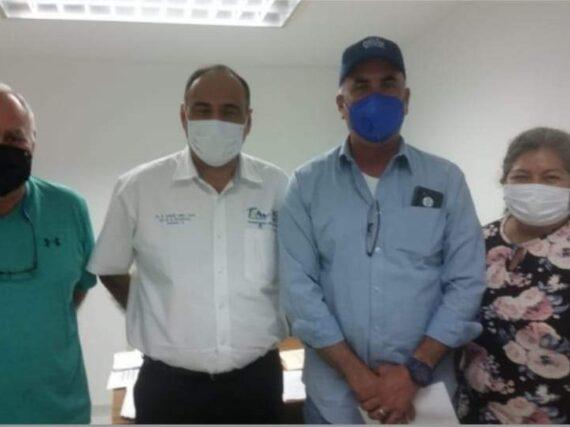 DIALOGA EL ALCALDE ELECTO DE MIER CON AUTORIDADES DE SALUD