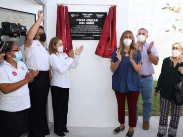 Construyó Gobierno de Reynosa Casa Hogar Infantil con 29.8 MDP
