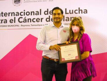 Prevenir es Vivir, conmemoran Día Internacional de la Lucha Contra el Cáncer en Reynosa