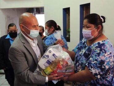 RECIBE GOBIERNO MUNICIPAL CUANTIOSA DONACIÓN DE SUMINISTROS POR PARTE DE BETHEL MISSION OUTREACH CENTER