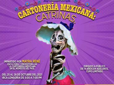"""Ofrece IRCA el taller """"Catrinas"""""""