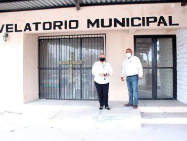 SUPERVISA MELY ROCHA, INSTALACIONES DEL VELATORIO MUNICIPAL PARA SU REHABILITACIÓN